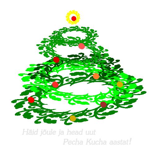 Häid jõule ja head uut Pecha Kucha aastat!